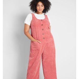 Modcloth 'as you wish' plus size jumpsuit-4x